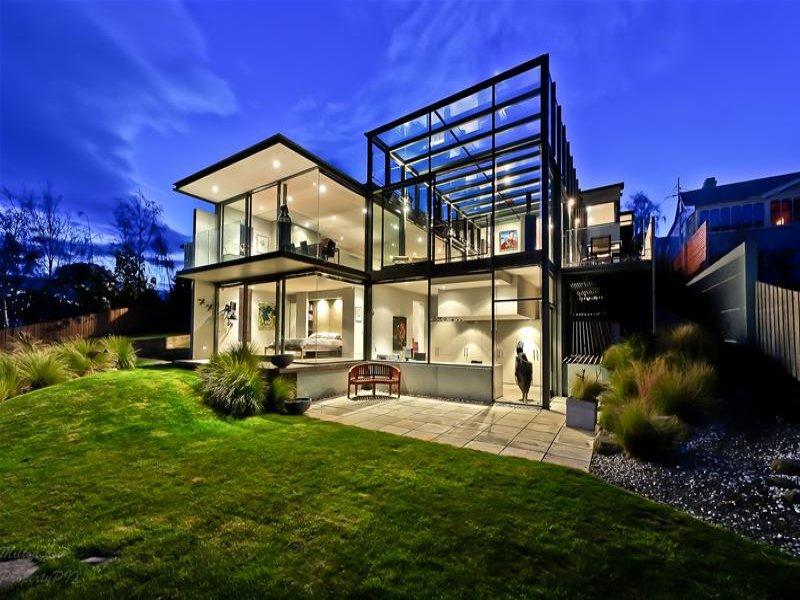 Casa de Vidro remodelada na Austrália; vidro e aço. (1/6)