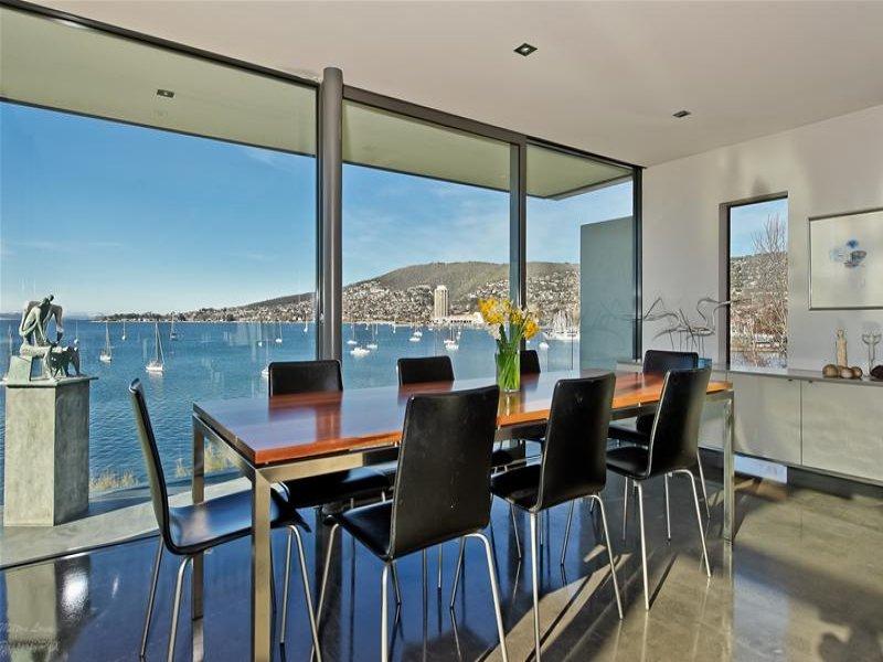 Casa de Vidro remodelada na Austrália; vidro e aço. (6/6)