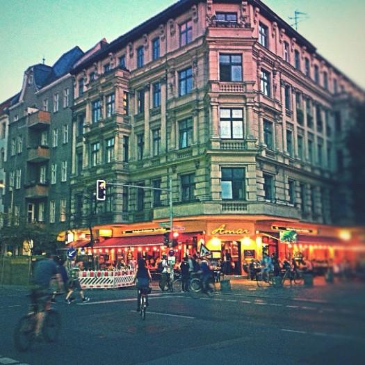 Uma esquina em Kreuzberg