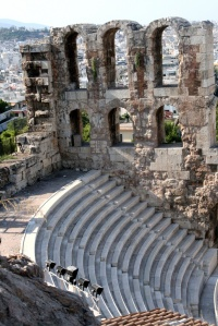 Herothion Theater, Athens, Greece por SofiaEulgem em Flickr